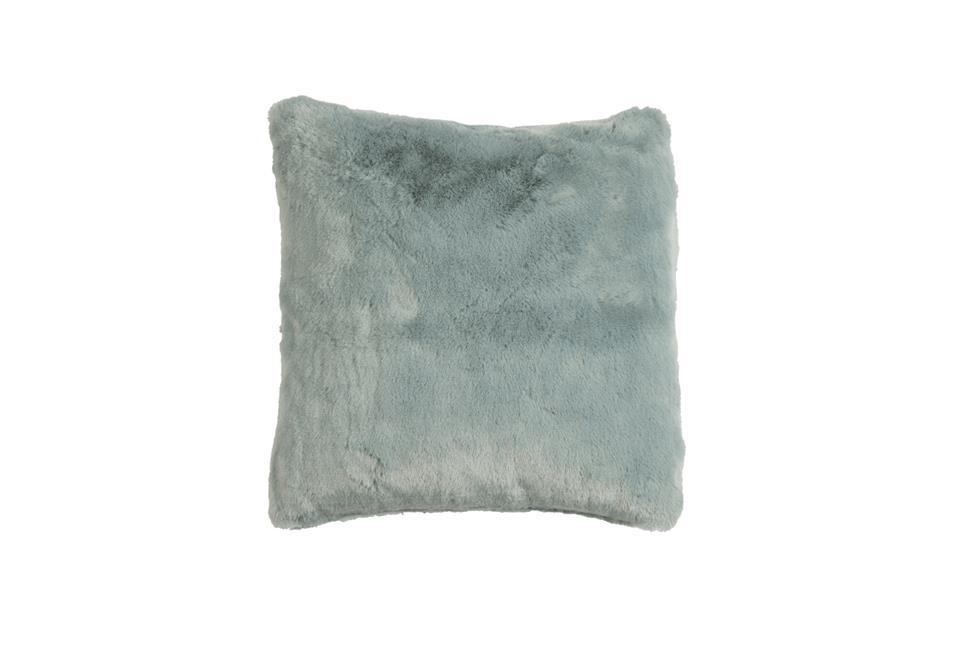Подушка Fine, Collection: Furry<BR>Material: 80 % PAN / 20 % PES<BR>Size: 45 x 45 cm<BR>Артикул: FURRY BLUE
