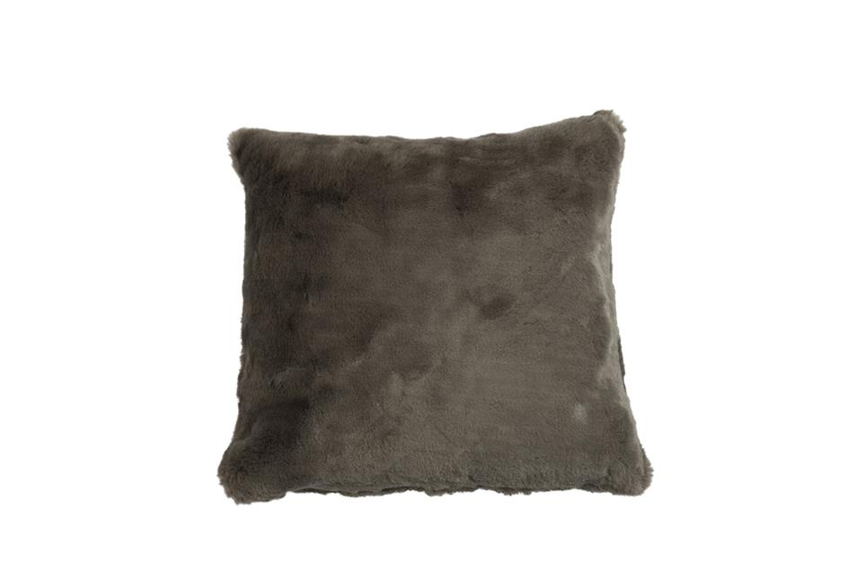 Подушка Fine, Collection: Furry<BR>Material: 80 % PAN / 20 % PES<BR>Size: 45 x 45 cm<BR>Артикул: FURRY BROWN