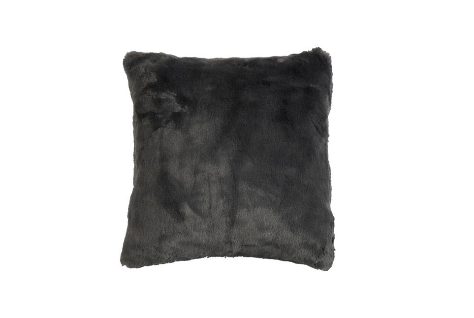Подушка Fine, Collection: Furry<BR>Material: 80 % PAN / 20 % PES<BR>Size: 45 x 45 cm<BR>Артикул: FURRY GREY
