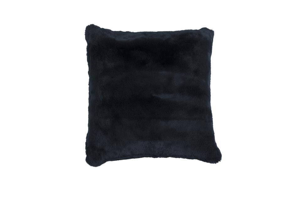 Подушка Fine, Collection: Furry<BR>Material: 80 % PAN / 20 % PES<BR>Size: 45 x 45 cm<BR>Артикул: FURRY NAVY