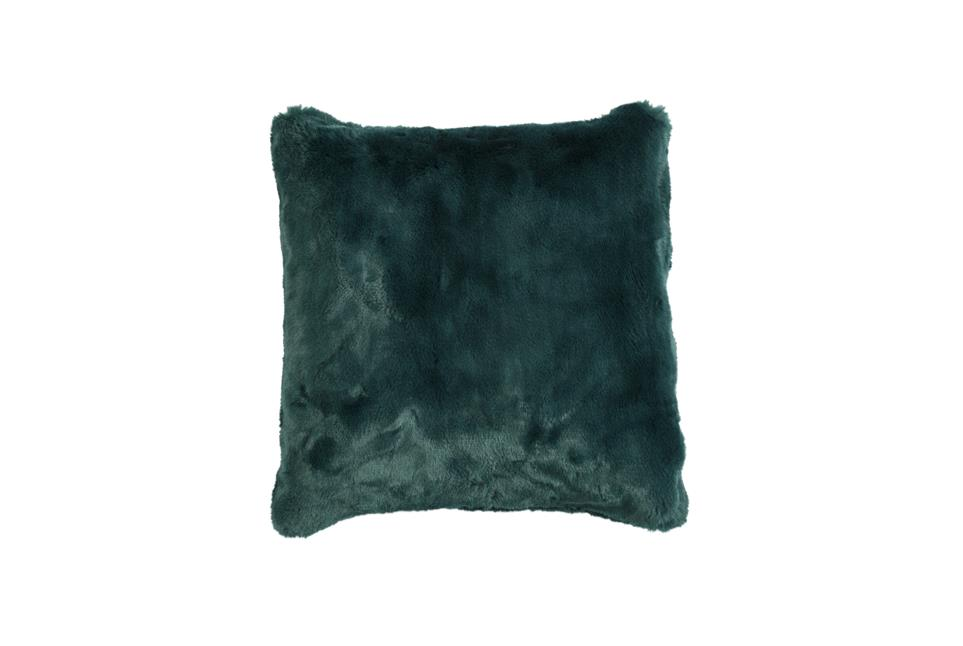 Подушка Fine, Collection: Furry<BR>Material: 80 % PAN / 20 % PES<BR>Size: 45 x 45 cm<BR>Артикул: FURRY PETROL