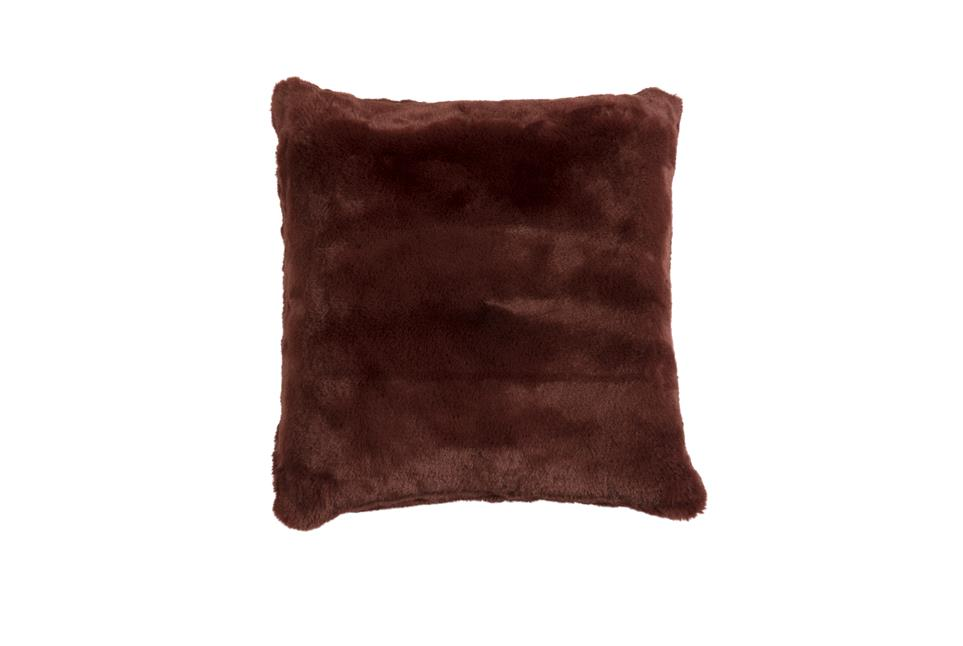 Подушка Fine, Collection: Furry<BR>Material: 80 % PAN / 20 % PES<BR>Size: 45 x 45 cm<BR>Артикул: FURRY RED