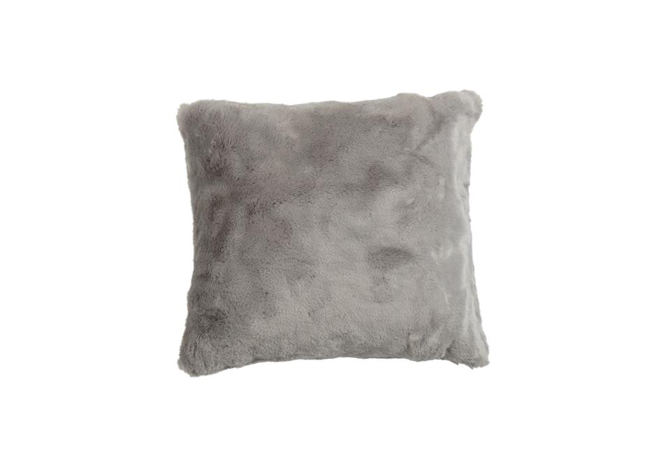 Подушка Fine, Collection: Furry<BR>Material: 80 % PAN / 20 % PES<BR>Size: 45 x 45 cm<BR>Артикул: FURRY TAUPE