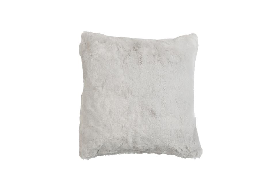 Подушка Fine, Collection: Furry<BR>Material: 80 % PAN / 20 % PES<BR>Size: 45 x 45 cm<BR>Артикул: FURRY WHITE