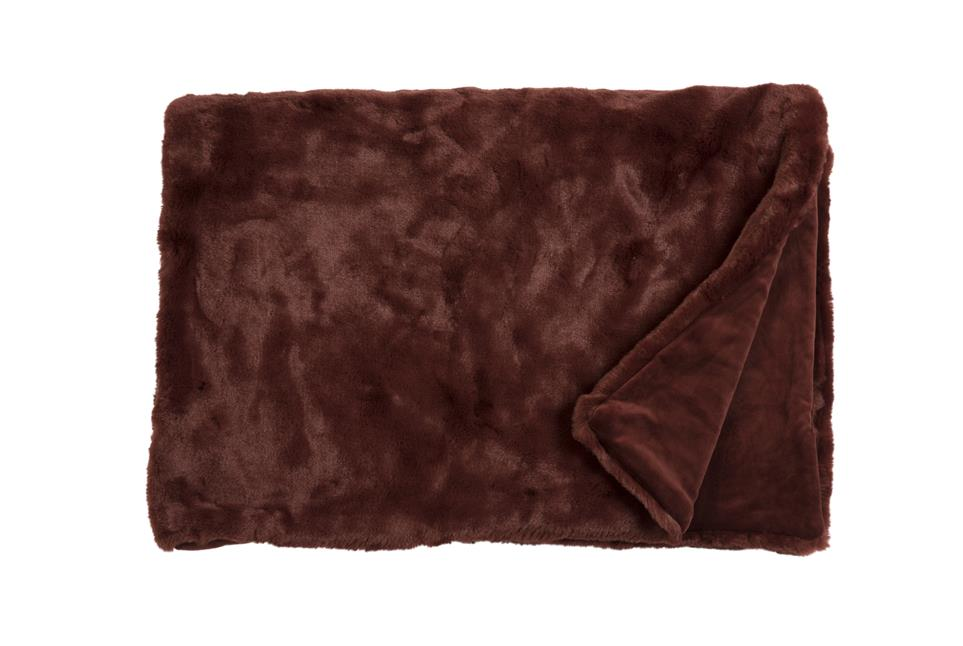 Плед Fine, Collection: Furry<br>Material: Fell / Fur: 80 % PAN / 20 % PES, Ruckseite / Rear: 100 % PES<br>Size: 140 x 190 cm<br>FURRY цвет RED