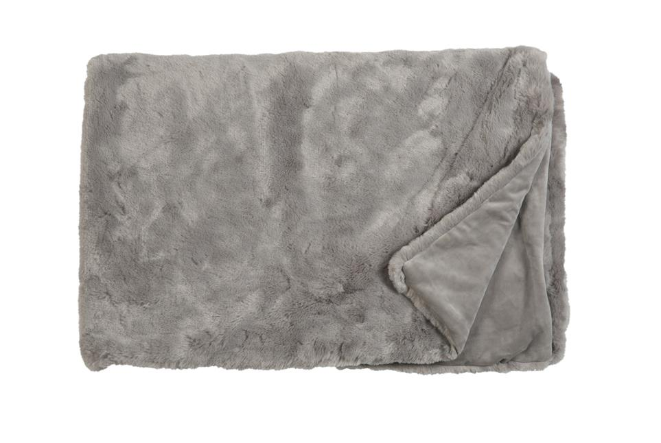 Плед Fine, Collection: Furry<br>Material: Fell / Fur: 80 % PAN / 20 % PES, Ruckseite / Rear: 100 % PES<br>Size: 140 x 190 cm<br>FURRY цвет TAUPE
