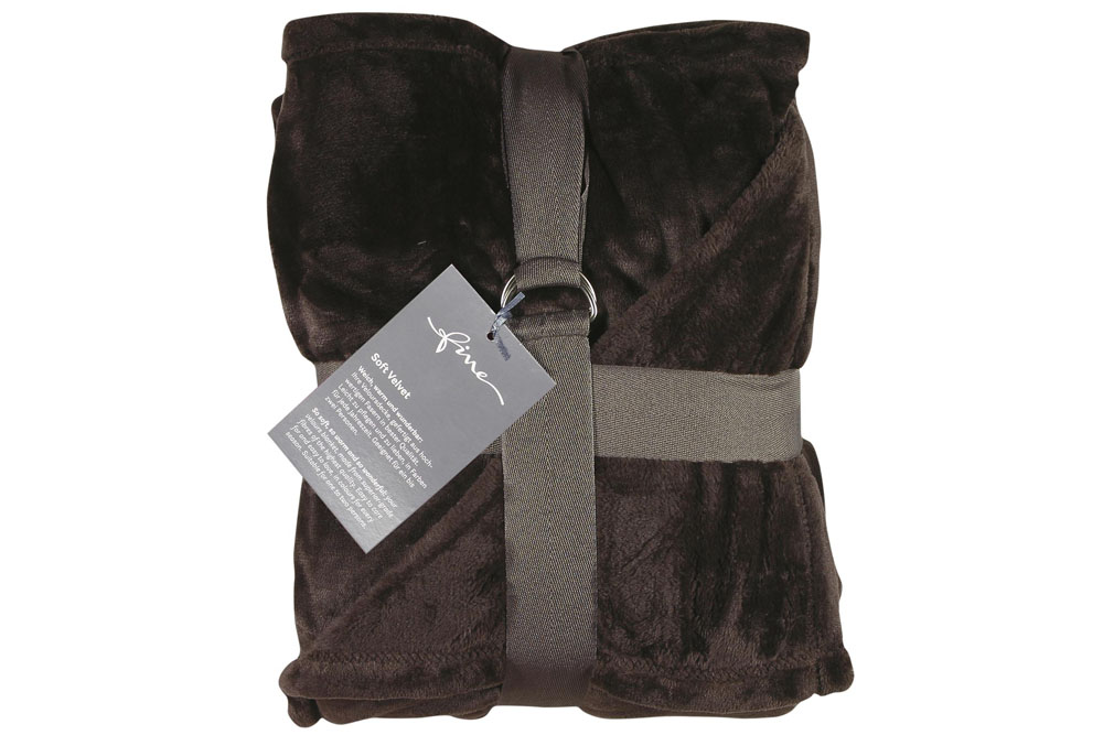 Плед Fine, Collection: Soft Velvet<br>Material: 100 % PES<br>Size: 140 x 200 cm<br>SOFT VELVET 141