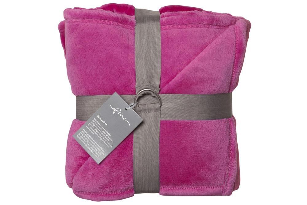 Плед Fine, Collection: Soft Velvet<br>Material: 100 % PES<br>Size: 140 x 200 cm<br>SOFT VELVET 151