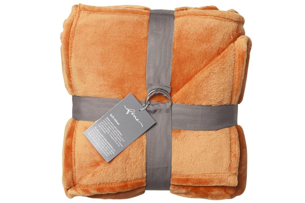 Плед Fine, Collection: Soft Velvet<br>Material: 100 % PES<br>Size: 140 x 200 cm<br>SOFT VELVET 160