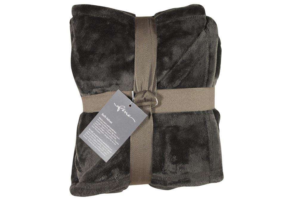 Плед Fine, Collection: Soft Velvet<br>Material: 100 % PES<br>Size: 140 x 200 cm<br>SOFT VELVET 171