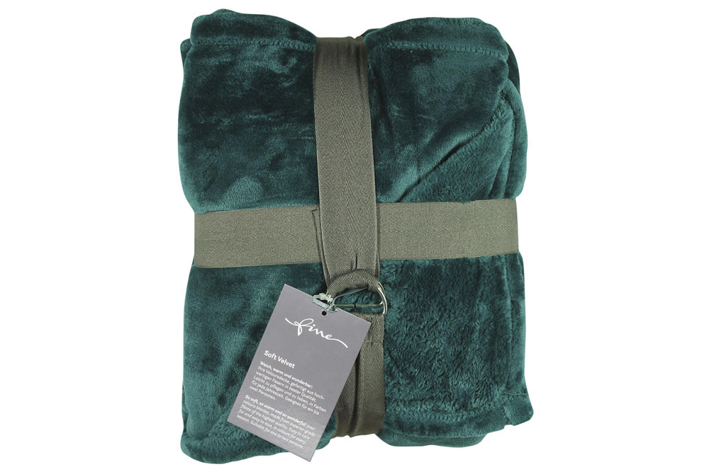 Плед Fine, Collection: Soft Velvet<br>Material: 100 % PES<br>Size: 140 x 200 cm<br>SOFT VELVET 180