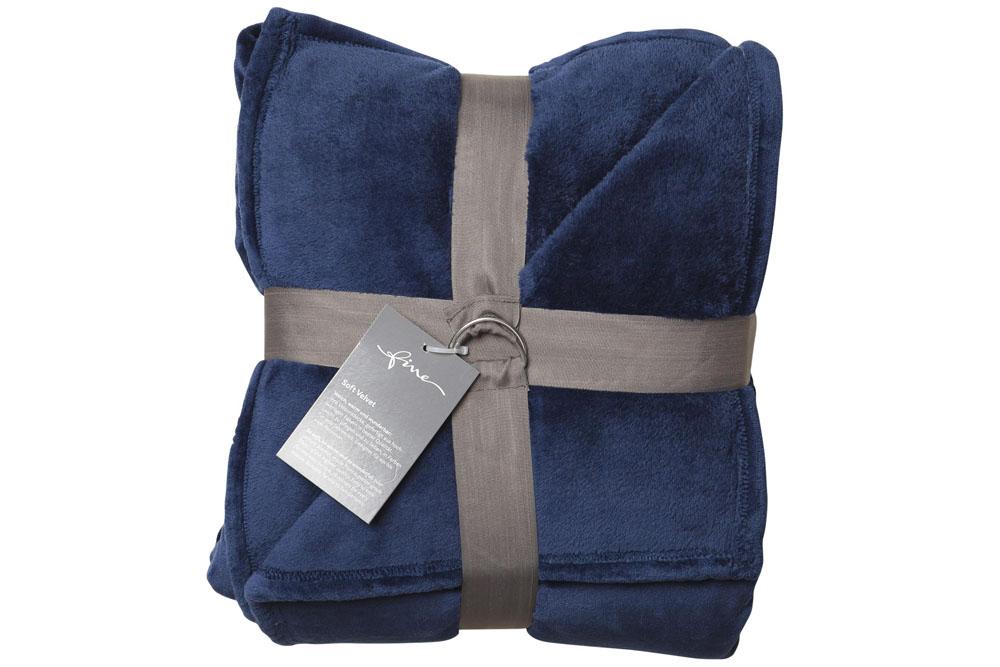 Плед Fine, Collection: Soft Velvet<br>Material: 100 % PES<br>Size: 140 x 200 cm<br>SOFT VELVET 182